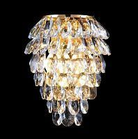 Бра LED CHARME AP2+2 LED GOLD/TRANSPARENT Crystal Lux